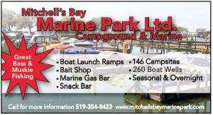 Mitchells Bay marin park