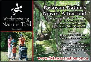 Weelateexung nature trail
