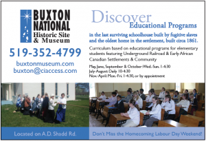 Buxton Educational programs