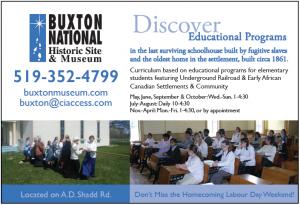 Buxton Educational programs