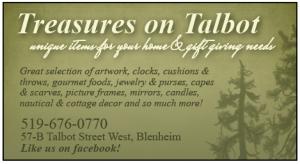 Treasures on talbot