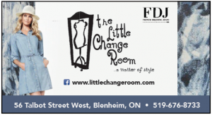 the little change room
