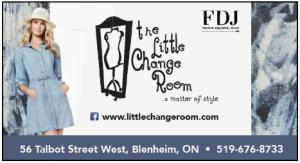 the little change room